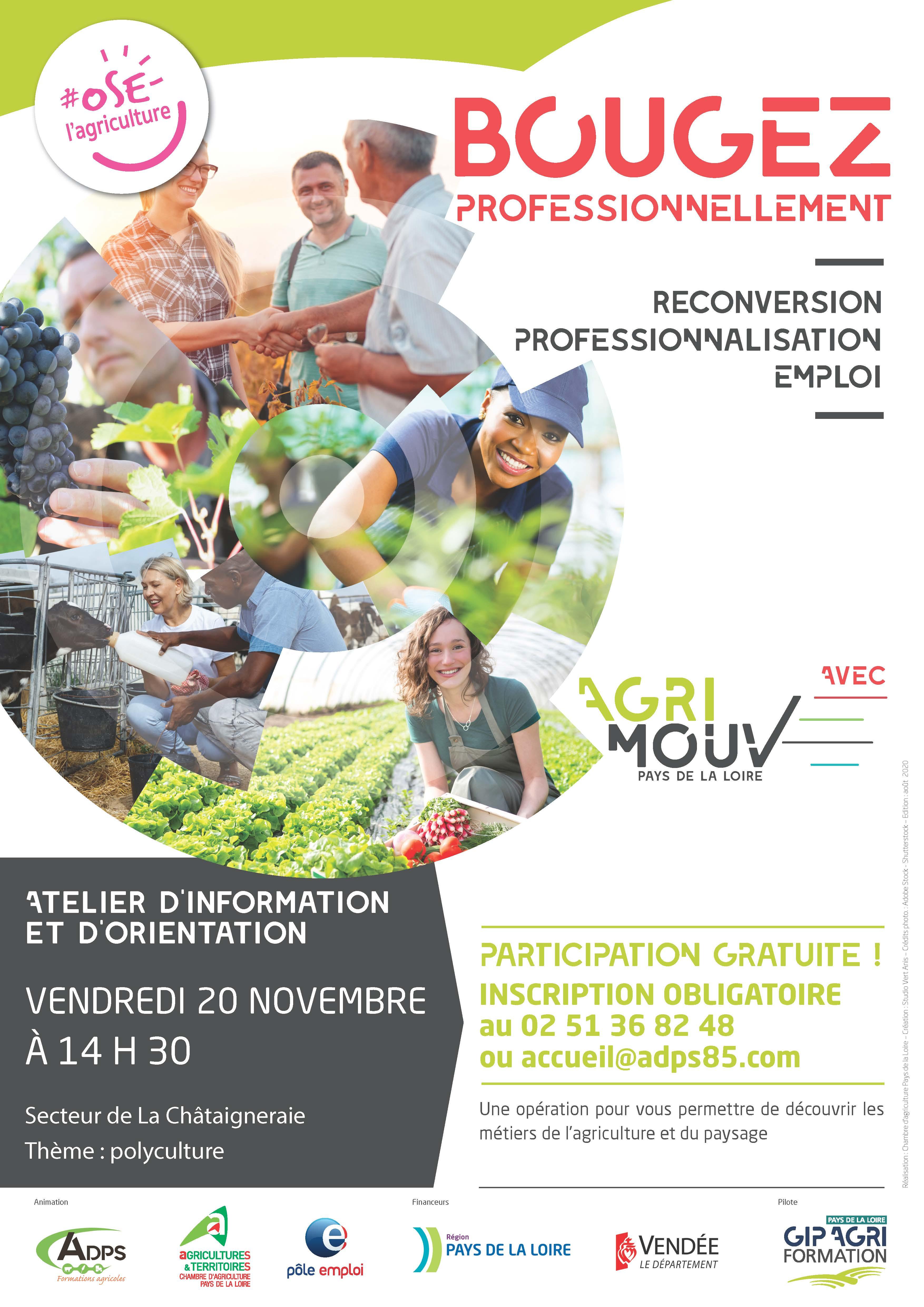 Agri'mouv - Atelier d'information