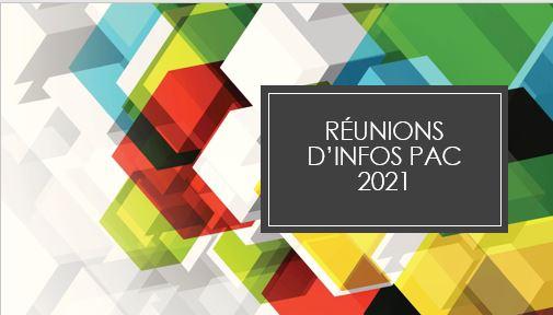 REUNION D'INFORMATIONS PAC - SECTEUR VENDEE CENTRE LE 15/10/2021